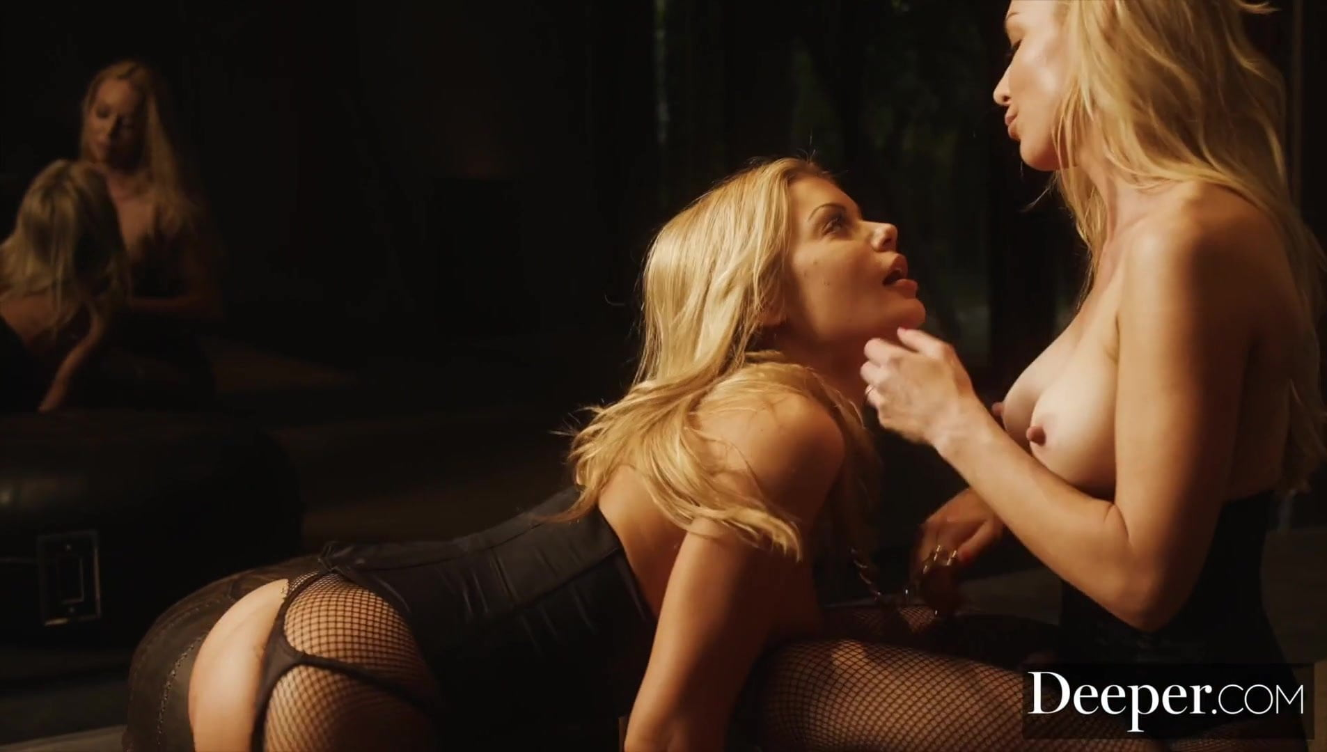 Deeper. Outer Limits for Kayden Kross and Riley Steele