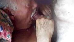 Grampa blowjob