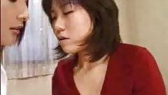 Japanese amorous Lesbians