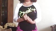 Abuela dominicana de 58 en periscope caliente