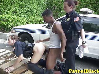 Femdom Cop Demands Suspect To Fuck Her