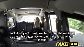 Fake Taxi Horny MILF wants cock and pussy