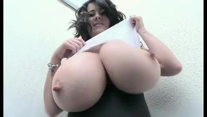 Big natural hard boobs