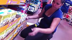 Walmart cleavege slut