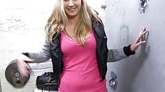 Alysha Rylee Receives Facial Cumshot From BBC - Gloryhole