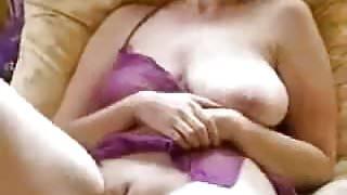 Mature bosomy wife