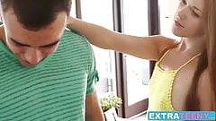 Amazing teen Kimberly Brix cheats on her boyfriend