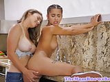 Pornstar Uma Jolie fingered by Ryan Ryans