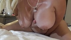Big Oiled Tits and Dirty Talk.