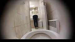 Estrangeiro - Hidden Cam HD piss in toilet part4