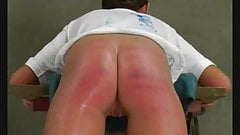 A harsh caning's Thumb