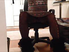 Sexy Teacher Hidden cam Under The Table