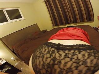 Cum on lace panty
