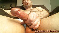 Starman X - Big cock with oil 01