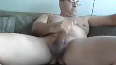 Mature cock stroker