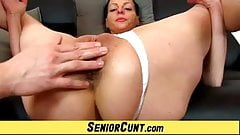 Lousy czech wife Renate device gape pussy's Thumb
