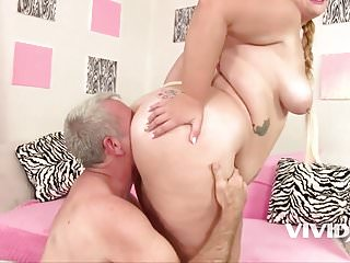 Vivid.com - Fat Slut Tiffany gets fucked by an old man