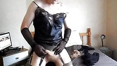 Sue loves her pantyhose and nylons