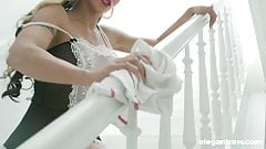 Maid Dusts BBC in all Corners