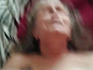 Granny on her back getting fucked PT1