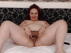 Bbw webcam saggy tits
