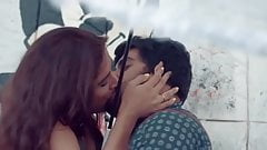 Hot Couple Kissing in Public Place - Feeling Good