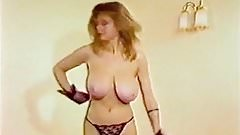 MY SHARONA - vintage big tits 80s dance striptease