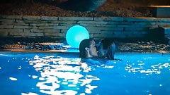 Janet Montgomery & Emma Roberts Lesbian Kiss - ScandalPlanet