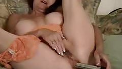 Brunette Granny Anal Cam 2