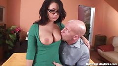 Cleared Eva angelina big tits at work think