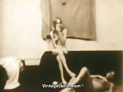 Lusty Ladies Has Sensual Lesbian Orgasms (1960s Vintage)