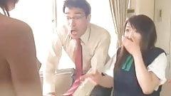 Those crazy japs, girls suddenly naked on school