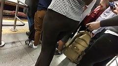 Very sexy secretary ass tight pants