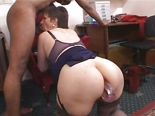 Hiry big tits mature ass fucked by black cock <c>Camaster<d>