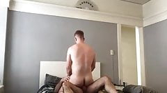 what a bubble ass fucked by beefy dad