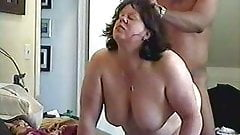 BBW takes BBC hard from behind