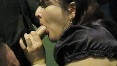 Blowjob And Cum Swallow's Thumb