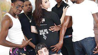 Chanel Preston Interracial Anal Gangbang - Cuckold Sessions