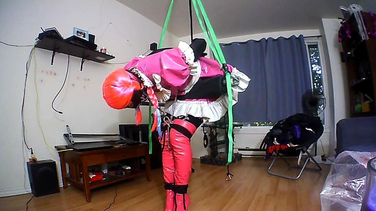 Even strappado bondage video