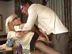 Secretary anal sex