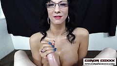 ConorCoxxx-POV handjob from your teacher Jessica Chase