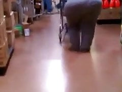 SSBBW ass at Walmart