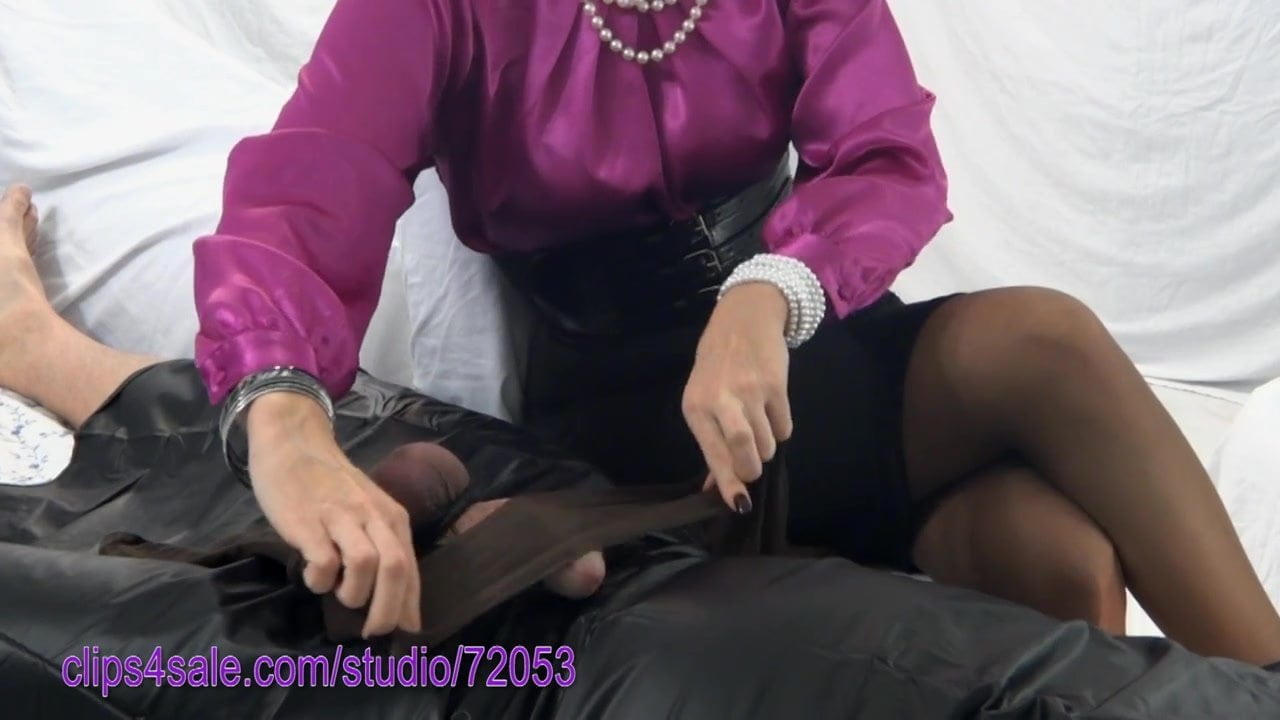 Let's pantyhose tease and denial