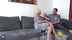 Romantic sex with granny