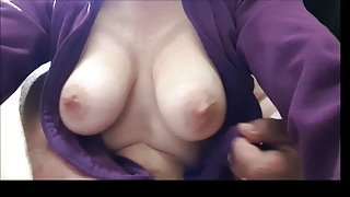 my wifes boobs swinging and bouncing