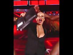 The Stupid Bitch Dana Brooke with Big Boobs