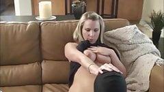 Chastity Slave lick Mistress