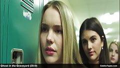 Kelli Berglund & Olivia Larsen nude and sexy movie scenes