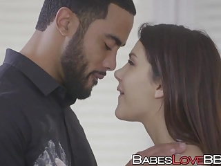 Bubble butt gal Valentina Nappi has interracial fuck session