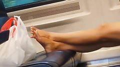 Candid feet #129